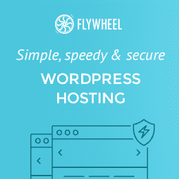 Flywheel: Simple, speed & secure WordPress hosting