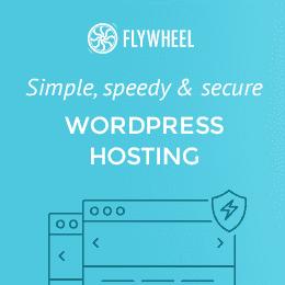 Flywheel: Simple, speed & secure WordPress hosting