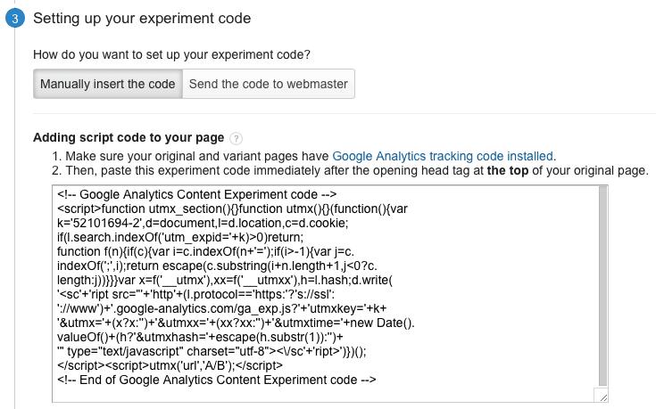 analytics-get-code