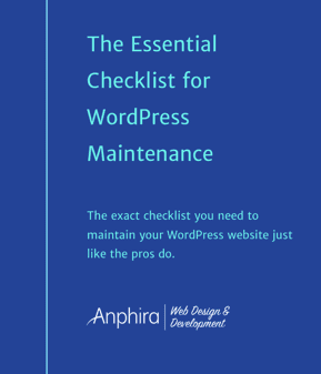 Essential Checklist for WordPress Maintenance cover