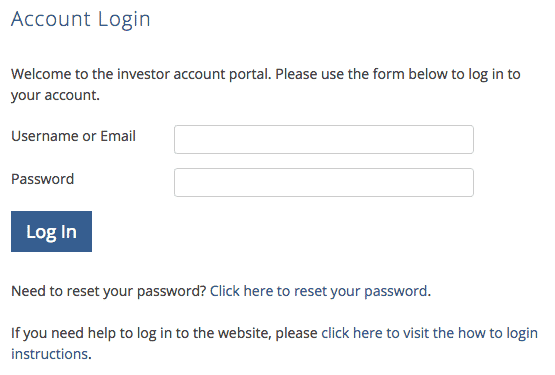 How clients and portal admins login to website